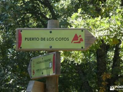 Vuelta al Senderismo-Valle Lozoya; viajes de senderismo montañeros monfrague el bosque sierra madrid
